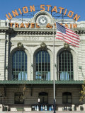 Union Train Station, Denver, Colorado, USA Reproduction photographique par Ethel Davies