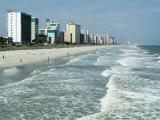 Seashore, Myrtle Beach, South Carolina, USA Fotografie-Druck von Ethel Davies