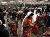 Inti Rayma Festival, Cuzco, Peru, South America Lámina fotográfica por Rob Cousins