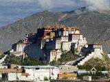 Potala Palace, Former Palace of the Dalai Lama, Unesco World Heritage Site, Lhasa, Tibet, China Reproduction photographique par Ethel Davies