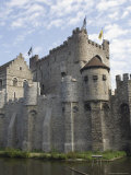 The Castle, Gravensteen, Ghent, Belgium Stampa fotografica di James Emmerson
