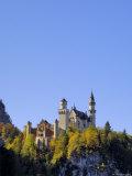 Schloss Neuschwanstein, Fairytale Castle Built by King Ludwig II, Near Fussen, Bavaria, Germany Impressão fotográfica por Gary Cook