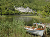 Kylemore Abbey, Connemara, County Galway, Connacht, Republic of Ireland Lámina fotográfica por Gary Cook