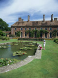 Lily Gardens and Strode House, Barrington Court, Somerset, England, United Kingdom Photographic Print by Chris Nicholson