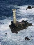 Longships Lighthouse, Lands End, Cornwall, England, United Kingdom Photographic Print by Chris Nicholson