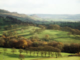 Landscape Near Wincle, Cheshire, England, United Kingdom Fotografisk trykk av Jonathan Hodson