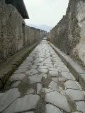 Street, Pompeii, Campania, Italy Photographic Print by Michael Newton