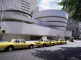 Guggenheim Museum on 5th Avenue, New York City, New York State, USA Impressão fotográfica por Walter Rawlings