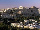 The Acropolis, Parthenon and City Skyline, Athens, Greece Photographic PrintGavin Hellier