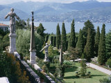 Isola Bella, Completed in 1670 for Count Borromeo, Lake Maggiore, Piedmont, Italy Impressão fotográfica por Walter Rawlings