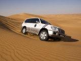 4X4 Dune-Bashing, Dubai, United Arab Emirates, Middle East Fotoprint av Gavin Hellier