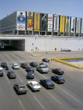 Downtown, Main Thoroughfare and Shopping Mall, Brasilia, Brazil, South America Photographic Print by Geoff Renner