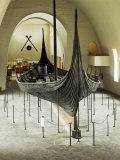 Replica of a Viking Ship, Oseberg, Oslo, Norway, Scandinavia Photographic Print by G Richardson
