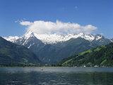 Zeller See, Salzburgerland, Austria Impressão fotográfica por G Richardson