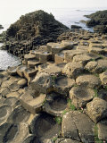 Giants Causeway, Unesco World Heritage Site, County Antrim, Ulster, Northern Ireland Impressão fotográfica por G Richardson