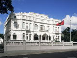 The Prime Minister's Office, Known as Whitehall, Port of Spain, Trinidad & Tobago Impressão fotográfica por G Richardson