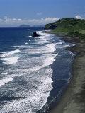 Windward Coast at Argyle Beach, St. Vincent, Windward Islands Photographic Print by G Richardson
