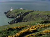 Howth Head Lighthouse, County Dublin, Eire (Republic of Ireland) Impressão fotográfica por G Richardson