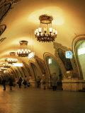 Kievskaya Metro Station, Moscow, Russia Reproduction photographique par Christopher Rennie