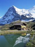 The Eiger, Kleine Scheidegg, Bernese Oberland, Swiss Alps, Switzerland Impressão fotográfica por Hans Peter Merten