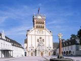 Abbey Church of St. Matthias, Trier, Rheinland-Pfalz, Germany Impressão fotográfica por Hans Peter Merten