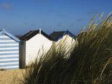 Beach Huts, Southwold, Suffolk, England, United Kingdom Photographic Print by Amanda Hall