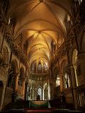 Interior, Canterbury Cathedral, Unesco World Heritage Site, Kent, England, United Kingdom Fotografisk tryk af Roy Rainford