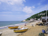 Beach, Ventnor, Isle of Wight, England, United Kingdom Reproduction photographique par Roy Rainford