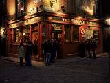 Temple Bar, Dublin, Eire (Republic of Ireland) Fotografisk tryk af Roy Rainford