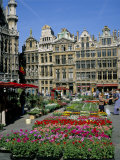 Grand Place, Brussels (Bruxelles), Belgium Fotografisk tryk af Roy Rainford