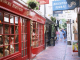 The Lanes, Brighton, East Sussex, England, United Kingdom Fotografisk tryk af Roy Rainford