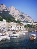 Marina Grande, Island of Capri, Campania, Italy, Mediterranean Fotografisk tryk af Roy Rainford