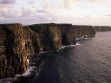 The Cliffs of Moher, County Clare, Munster, Eire (Republic of Ireland) Fotografisk tryk af Roy Rainford