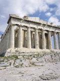 The Parthenon, Acropolis, Unesco World Heritage Site, Athens, Greece Fotografisk tryk af Roy Rainford