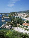 Parga, Greece Fotografisk tryk af John Miller