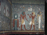 Interior, Tomb of Ramses I, Valley of the Kings, Thebes, Unesco World Heritage Site, Egypt Photographic Print by John Ross
