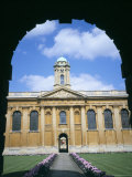 Queens College, Oxford, Oxfordshire, England, United Kingdom Photographic Print by David Hunter