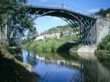 Iron Bridge Across the River Severn, Ironbridge, UNESCO World Heritage Site, Shropshire, England Photographic Print by David Hunter