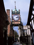 Eastgate Clock, Chester, Cheshire, England, United Kingdom Photographic Print by David Hunter