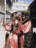 Carnival Costumes, Venice, Veneto, Italy Photographic Print by Simon Harris