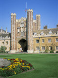 Great Court and Great Gate, Trinity College, Cambridge, Cambridgeshire, England Photographic Print by David Hunter