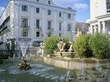 Neptune Fountain and the Promenade, Cheltenham, Gloucestershire, England, United Kingdom Photographic Print by David Hunter