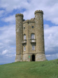 Broadway Tower, Broadway, Worcestershire, Cotswolds, England, United Kingdom Photographic Print by David Hunter