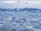 Jokulslarlon Glacial Lagoon, Vatnajokull Icecap, South Area, Iceland, Polar Regions Photographic Print by Simon Harris