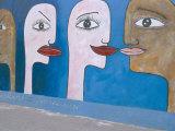 East Side Gallery, Berlin Wall, Berlin, Germany Photographic Print by Bruno Morandi