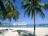 Cruise Ship, Ocho Rios, Jamaica, West Indies, Central America Photographic Print by Sergio Pitamitz