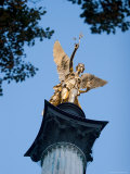 Column of the Angel of Peace (Friedensengel), Munich, Bavaria, Germany Photographic Print by Yadid Levy