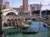 Grand Canal at the Venetian, Las Vegas, Nevada, USA Photographic Print by Kim Hart