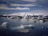 Jokulsarlon, Southern Area, Iceland, Polar Regions Photographic Print by Kim Hart