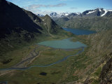 Jotunheimen, Leirungen, and Lake Gjende, Norway, Scandinavia Photographic Print by Kim Hart